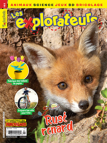 LES EXPLORATEURS NO 163 - MAI 2018