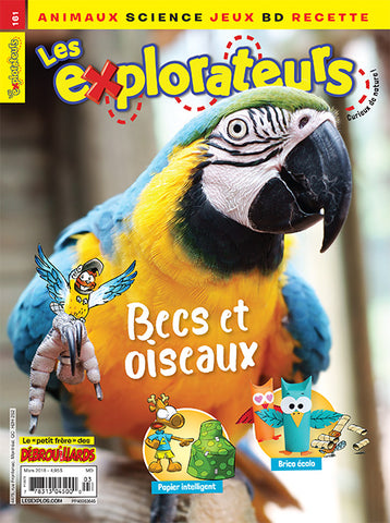 LES EXPLORATEURS NO 161 - MARS 2018