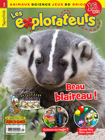 LES EXPLORATEURS NO 146 - NOVEMBRE 2016