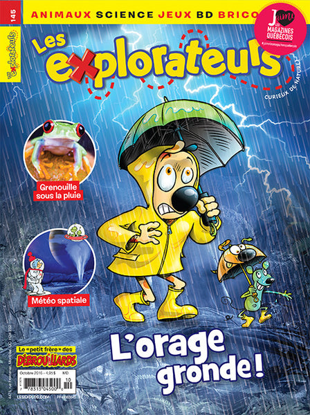LES EXPLORATEURS NO 145 - OCTOBRE 2016