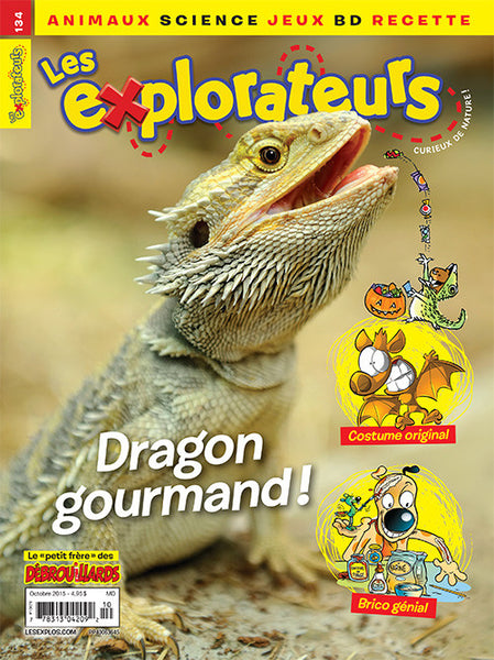 LES EXPLORATEURS NO 134 - OCTOBRE 2015