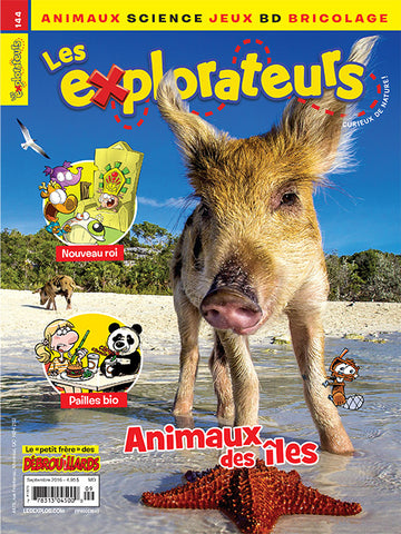 LES EXPLORATEURS NO 144 - SEPTEMBRE 2016