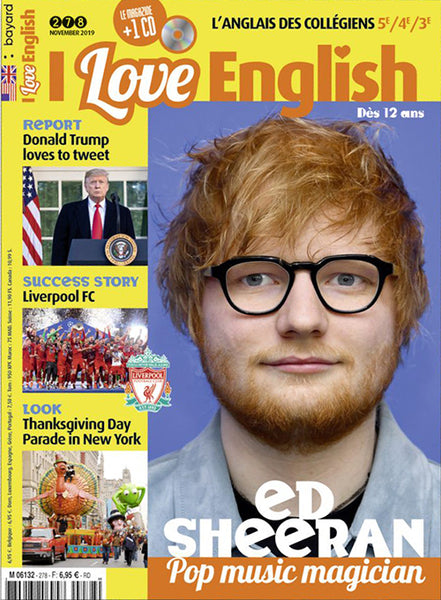 I LOVE ENGLISH NO 278 - NOVEMBRE 2019