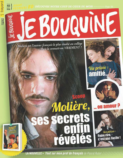 JE BOUQUINE NO 415 - SEPTEMBRE 2018
