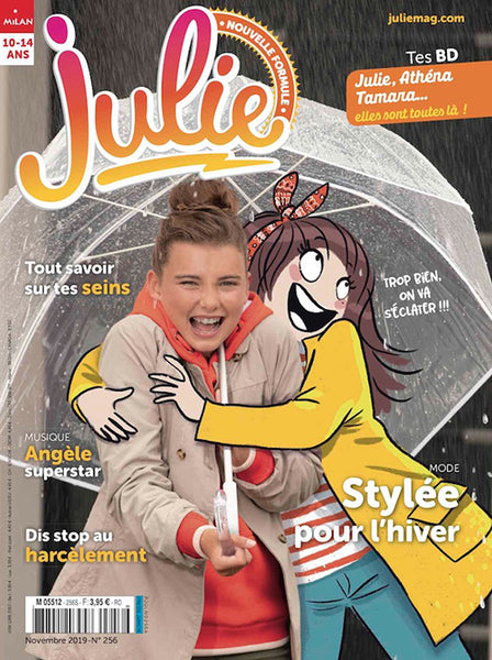 JULIE NO 256 - NOVEMBRE 2019