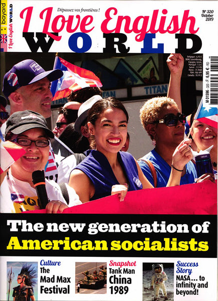 I LOVE ENGLISH WORLD NO 320 - OCTOBRE 2019