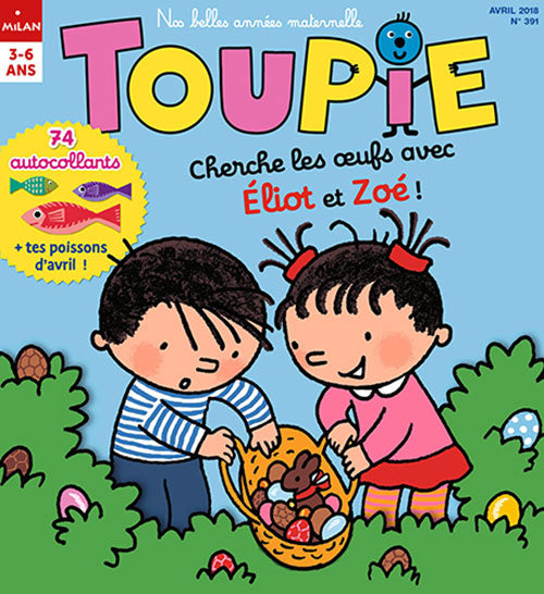 TOUPIE NO 391 - AVRIL 2018