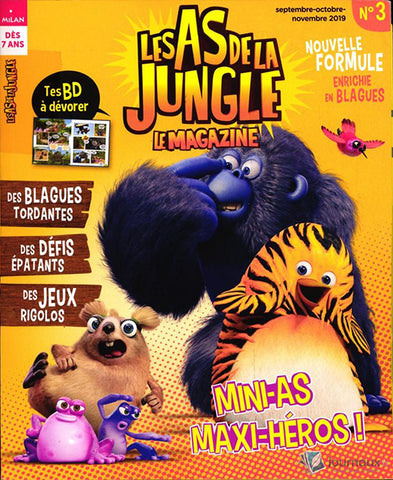 Les As de la jungle  - Le magazine