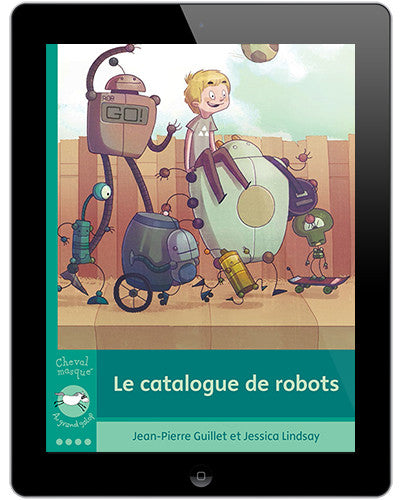 J'aime lire interactif - Le catalogue de robots // promo Bundle explo