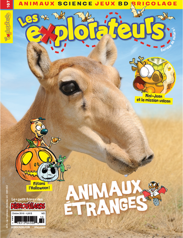 LES EXPLORATEURS NO 167 - OCTOBRE 2018