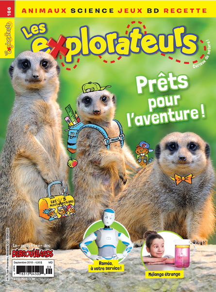 LES EXPLORATEURS NO 166 - SEPTEMBRE  2018