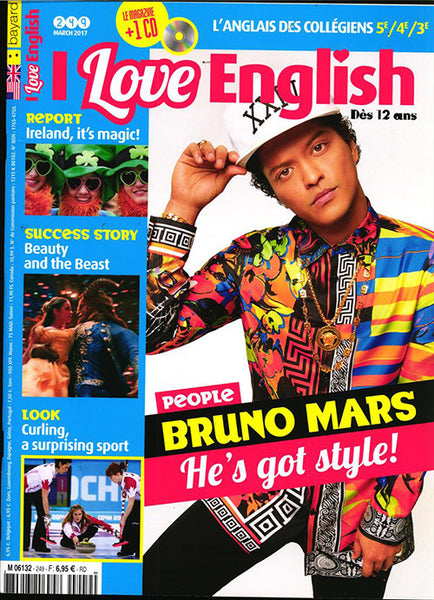 I LOVE ENGLISH NO 249 - MARS 2017