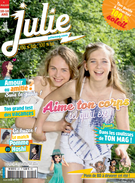 JULIE NO 241 - AOUT 2018