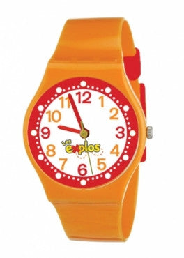 MONTRE ORANGE - LES EXPLORATEURS