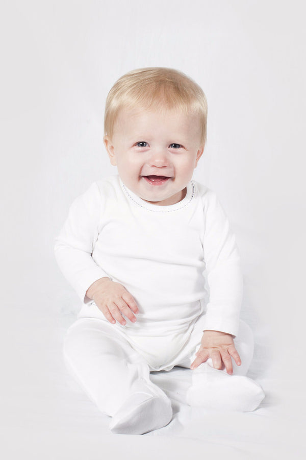 Preston Footed Romper - Solids