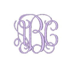 WEB TOOL Monogram Fee - Three Initials