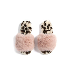 Vegan Faux Fur Slippers
