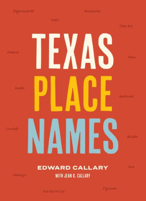 Texas Place Names