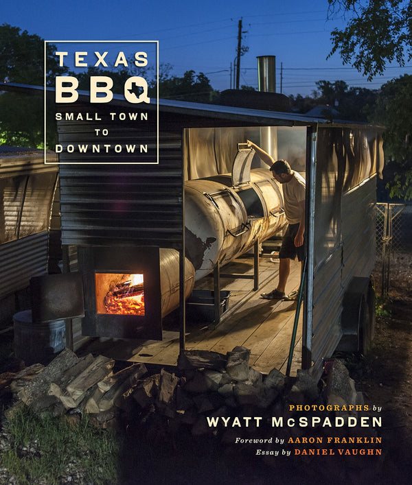 Texas BBQ Hardcover Book