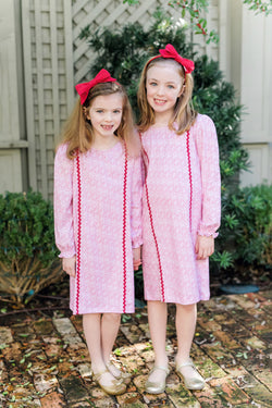 SALE Reese Ric Rac Dress - Holiday 2020