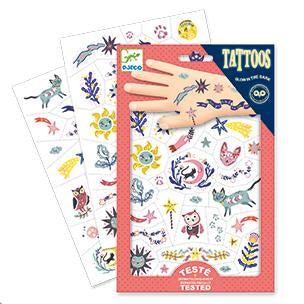 Temporary Tattoos by Djeco
