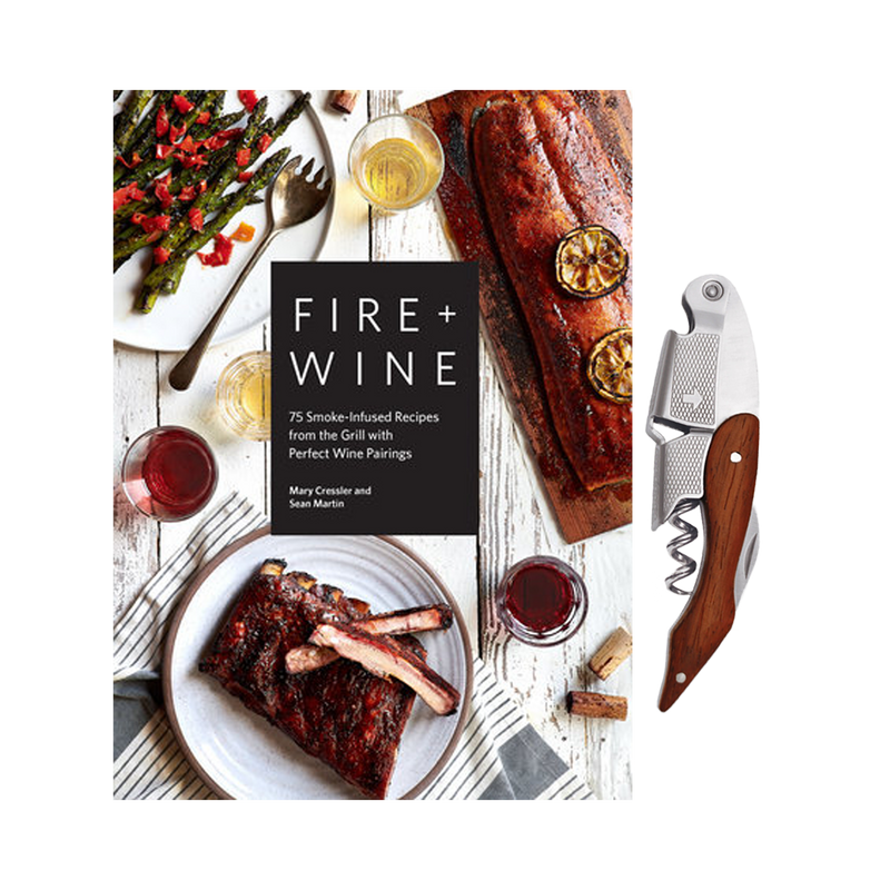 Fire + Wine and Sommelier Corkscrew Set
