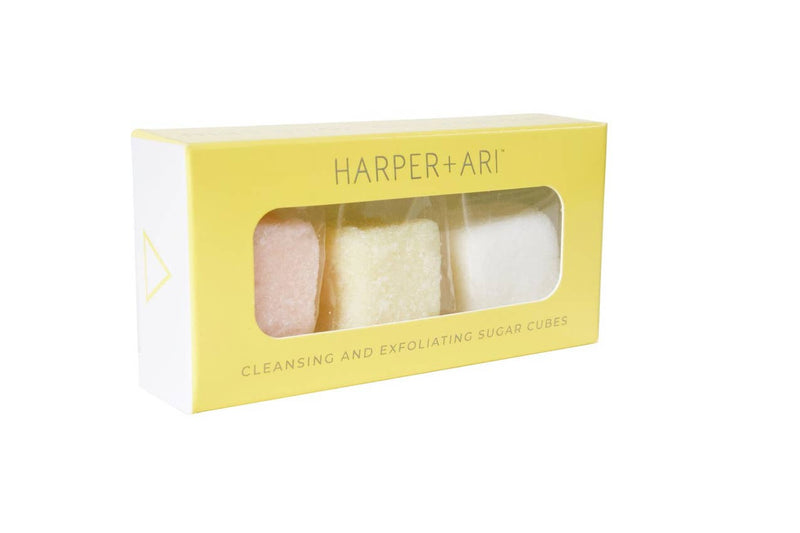 Harper + Ari Exfoliating Sugar Cubes set of 3 $6