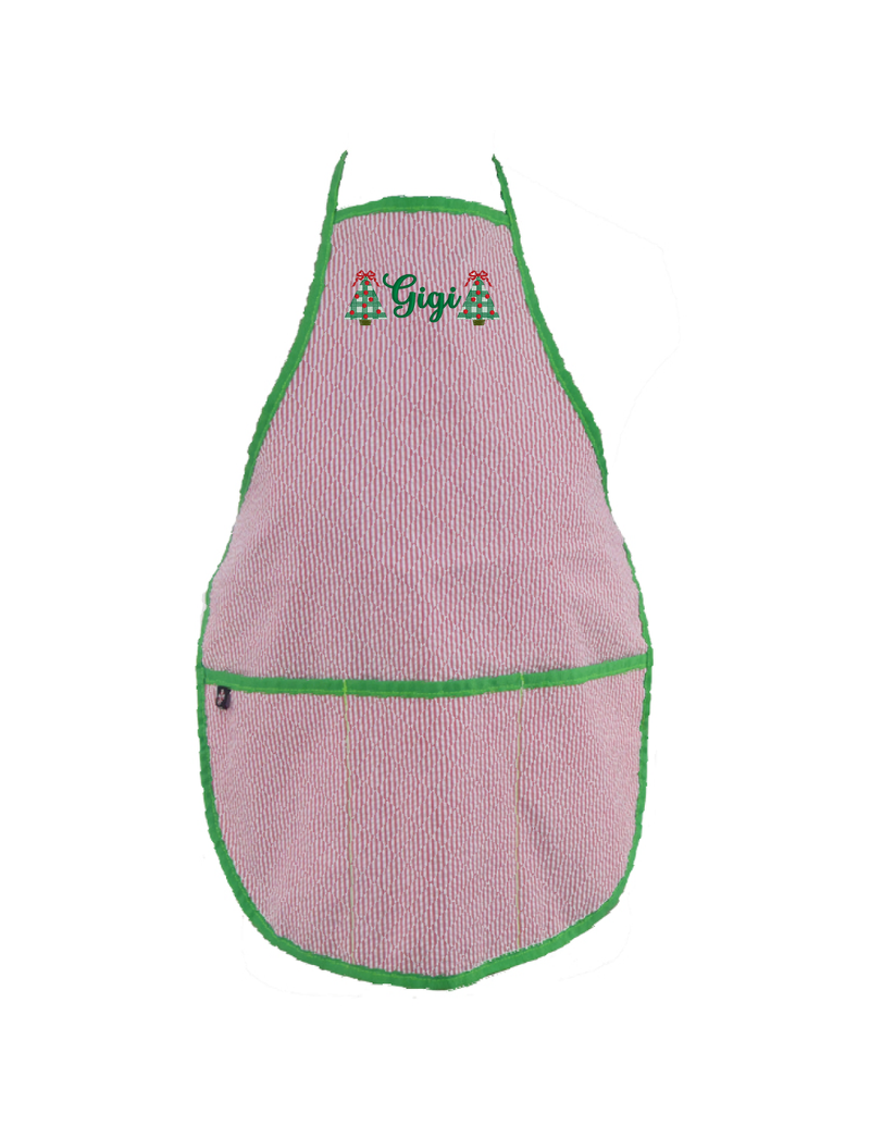 Family Monogrammed Christmas Apron by Oh Mint