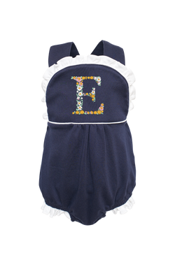 Eloise Bubble with Floral Initial