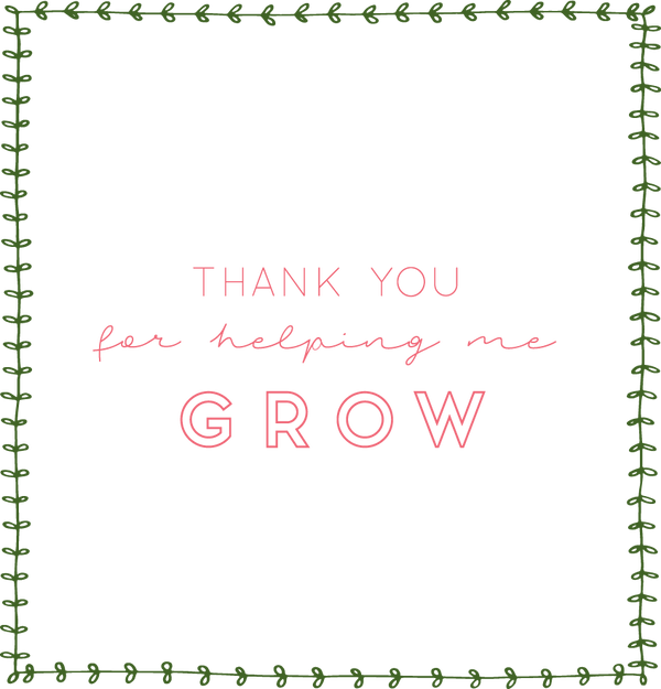 "FORT WORTH ""Thank you for helping me GROW""... Teacher Gift Package MEDIUM"