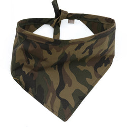 Camo Canvas Dog Bandana