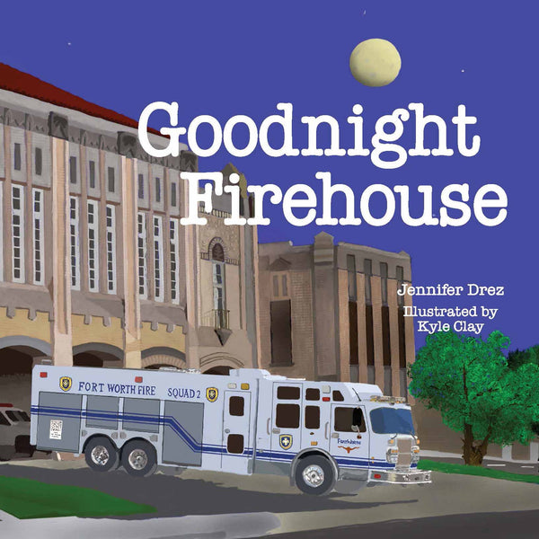 Goodnight Firehouse Hardback Book by