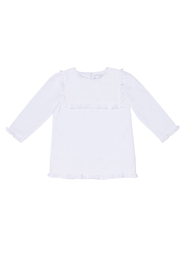 Rae Ruffled Panel Woven Top
