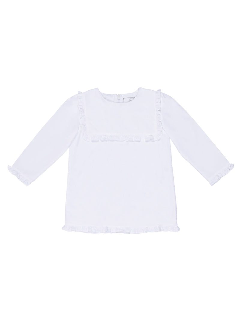 SALE Rae Ruffled Panel Woven Top