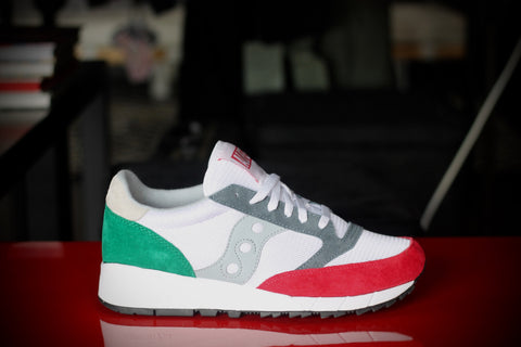 SAUCONY JAZZ 91 X ALIFE GREEN/RED SZ0252-1