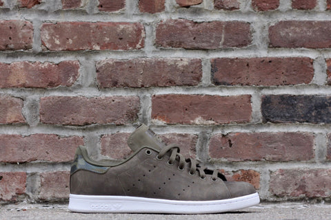 ADIDAS STAN SMITH WAXED OLIVE CAMO S75544