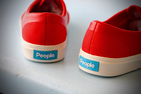 "PEOPLE FOOTWEAR - THE STANLEY ""SUPREME RED/PICKET WHITE"""