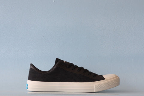 "PEOPLE FOOTWEAR - THE PHILLIPS ""REALLY BLACK/PICKET WHITE"""
