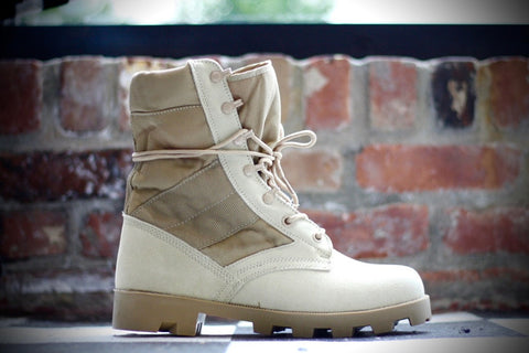 ROTHCO G.I. DESERT JUNGLE BOOTS - TAN 5057R
