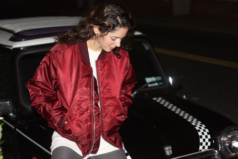 ROTHCO MA-1 Flight BOMBER Jacket - Maroon