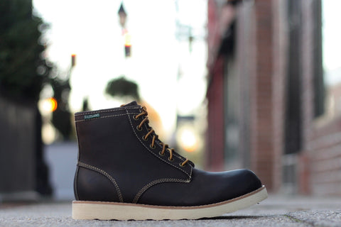 "EASTLAND BARON BOOT  ""DARK BROWN"""
