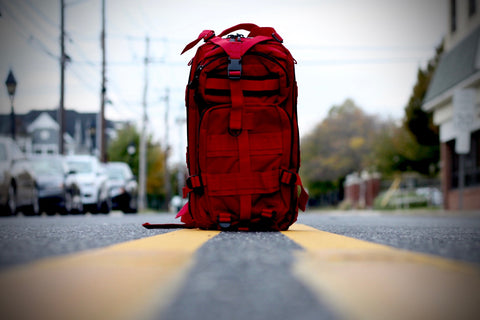 ROTHCO TACTICAL MEDIUM TRANSPORT BACKPACK RED