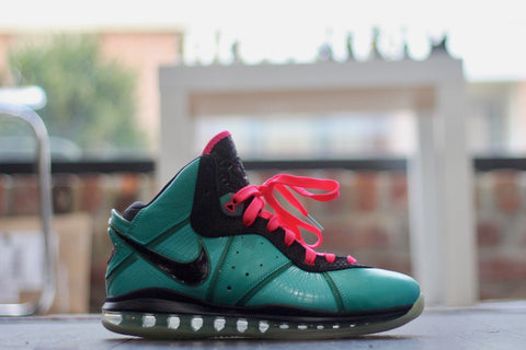 "NIKE LEBRON 8 PRE HEAT ""SOUTH BEACH"" 417098-401"