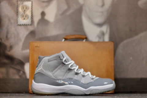 "AIR JORDAN RETRO 11 XI ""COOL GREY"" 378037 001"