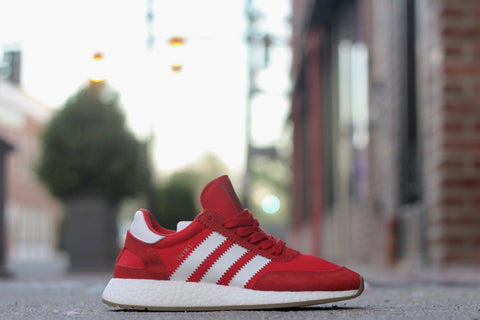 ADIDAS INKA BOOST RED WHITE