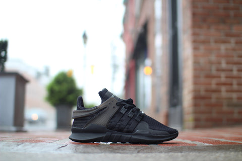"ADIDAS EQUIPMENT EQT SUPPORT ADV ""TRIPLE BLACK"" BA8324"