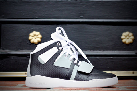 CREATIVE RECREATION - MANZO - WHITE / BLACK / GREY