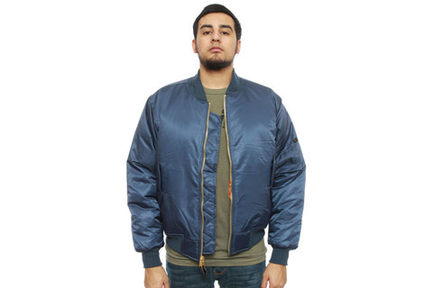 ROTHCO MA-1 Flight BOMBER Jacket - NAVY