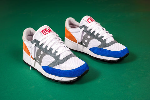 SAUCONY JAZZ 91 X ALIFE ORANGE/BLUE S70252-2