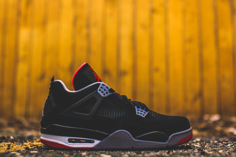 "AIR JORDAN RETRO 4 ""BRED"" 308497 089 2012 RELEASE"